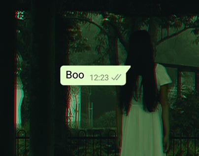 Boo || Photomanipulation || photoshop