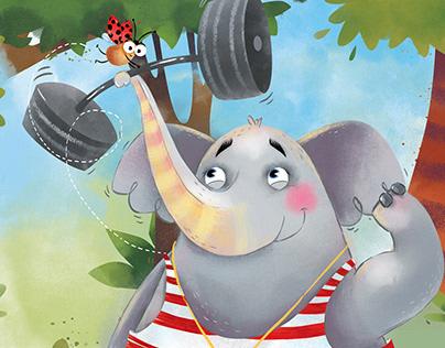 Journal cover.June 2018.Elephant