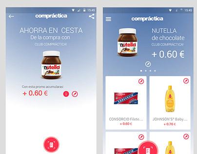 Club Compatica IOS / Android App Concept