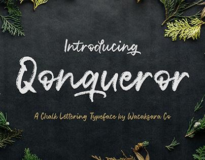 Qonqueror Typeface