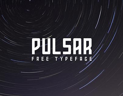 PULSAR / FREE TYPEFACE