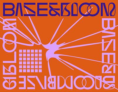 BASE&BLOOM — eclectic sans with flourish alternates