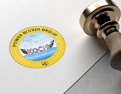 Logo Design For Power BI user Group Kochi