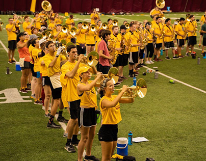 Sun Devil Marching Band: A family of 400