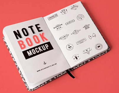7 Best Free Realistic Notebook Mockups