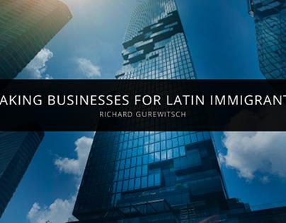 Richard Gurewitsch Makes Businesses for Latin