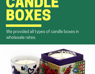 Custom Candle Boxes | Custom Candle Boxes Wholesale