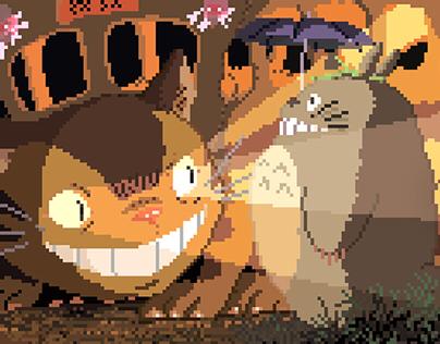 More 8-bit Ghibli