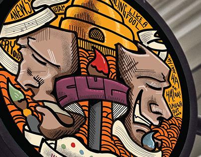 SLUG Magazine ART illustration
