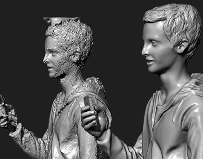 3D Scan Cleanup for 3D PRINTING