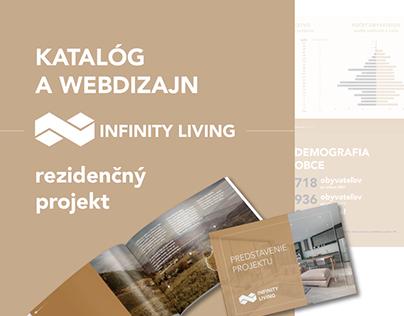 Infinity Living (catalogue&webdesign)