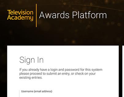 Emmys Nomination Platform