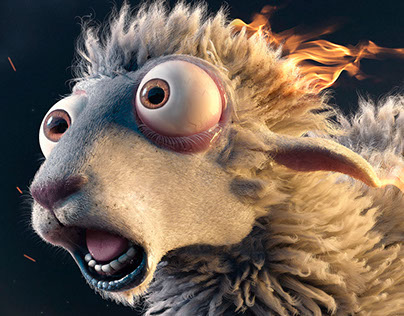 Burn - Sheep
