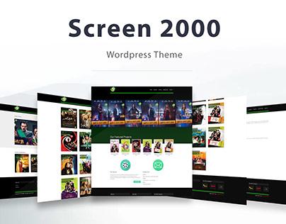 Screen 2000 - Wordpress Theme