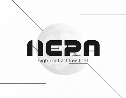 NERA - FREE DISPLAY FONT