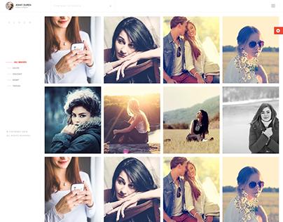 Memories - Creative Photography & Portfolio Template