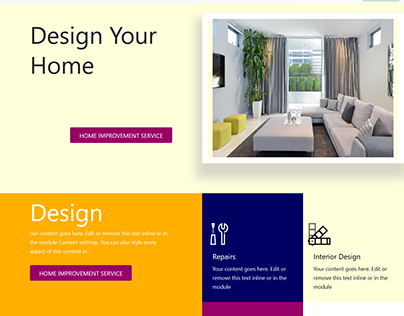 Static HTML TEmplate