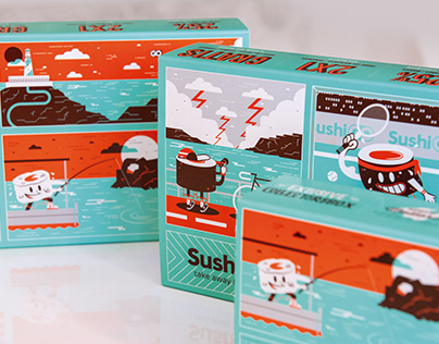 SUSHI GO PACKAGING