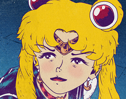 """Sailor Moon Redraw Challenge"""
