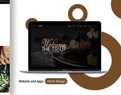 Pie Shop Landing Page UX UI design