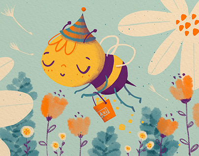 Axi the little bee