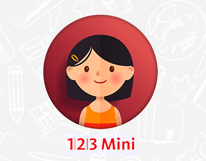 Illustrations for the app 1|2|3 Mini