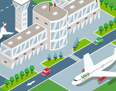 Viva aerobus (Feria de aviación Print)