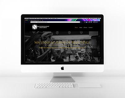 Magennis Academy - Website Redesign & Branding