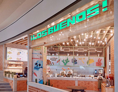 "Restaurant Painting ""Los Buenos"""