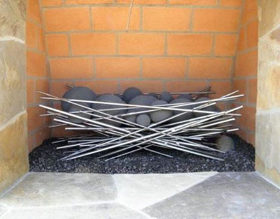 Modern & Contemporary Fireplace Accessories