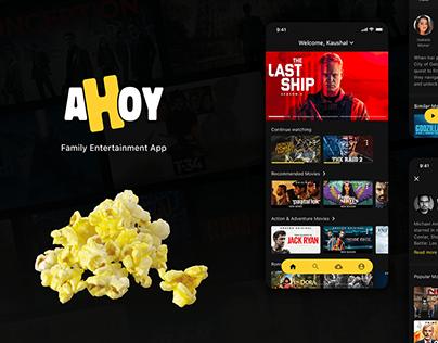 Ahoy - Movie Streaming App