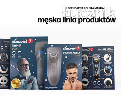 Męska linia produktów Łucznik