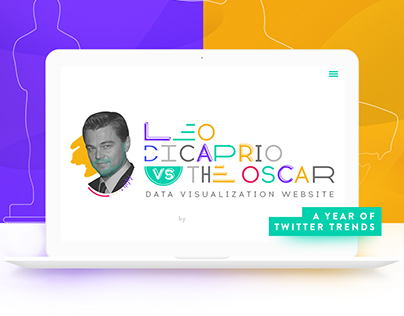 Leo DiCaprio vs The Oscar | Data Visualization Website