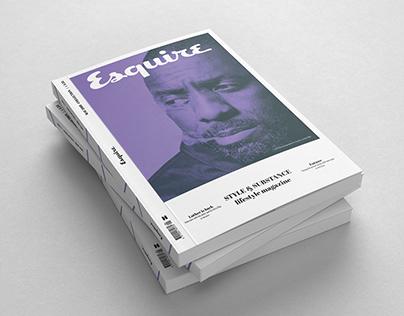 Esquire Magazine Concept