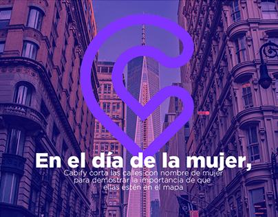 Cabify - Mujeres en el mapa