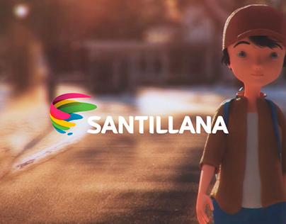 SANTILLANA - Diseño de personajes Cortometraje Navidad