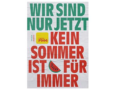 Radio FM4 Poster »Summer«