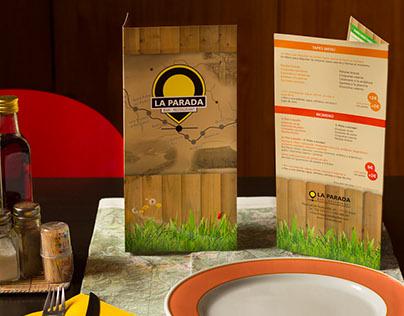 Bar La Parada restaurant menu