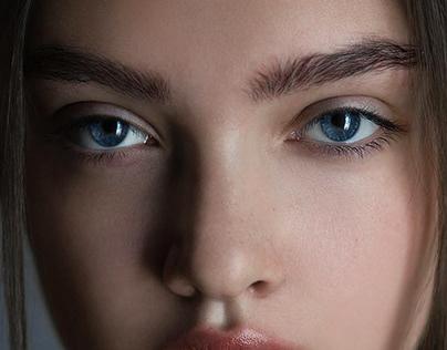 Md: Polina. Skin correction