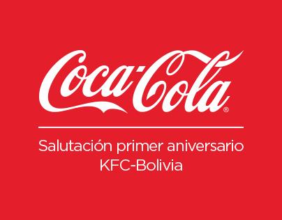 Salutacion Coca-Cola-KFC