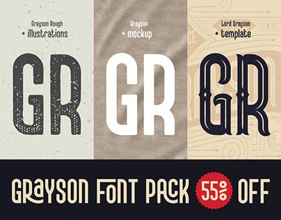 Grayson Font Pack