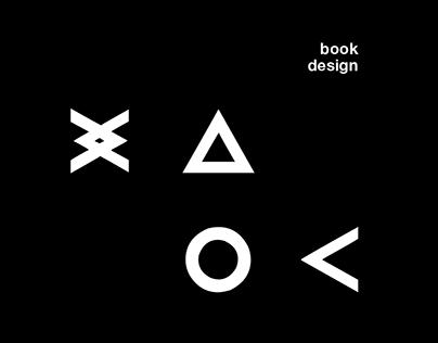"""XAOC"". Book design"