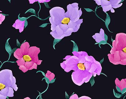 Floral Print / Textile Pattern
