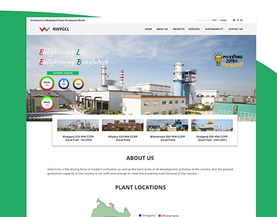 Powerplant Website Design