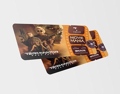 Movie Ticket Design