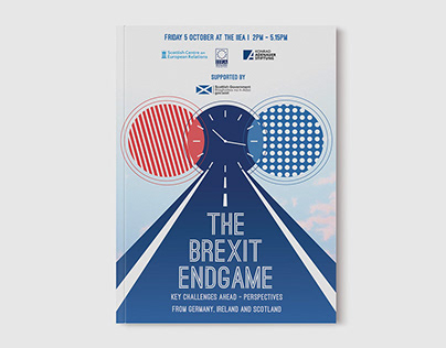 The Brexit Endgame - Visual Identity & Event programme