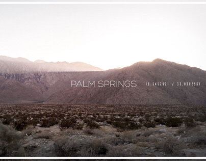 From PalmSprings with love.