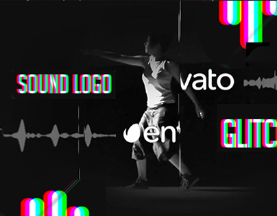 Sound Glitch Logo - After Effects Template