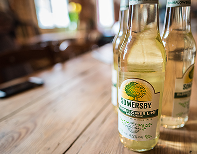 Photoshoot for Ekskluzywny Menel and Somersby beer