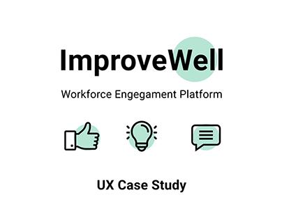 ImproveWell - UX Case Study